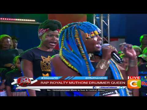 Muthoni Drummer Queen drops brand new track by the ten #10Over10