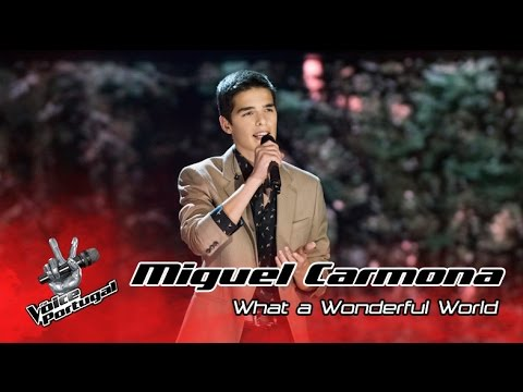 Miguel Carmona - What a wonderful world (Louis Armstrong) | Gala Final | The Voice Portugal