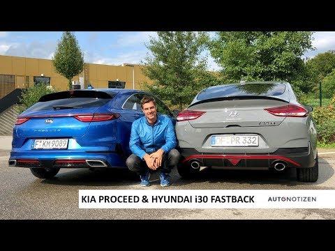 Hyundai I30 Fastback Und Kia Proceed - Konzepte Im Vergleich