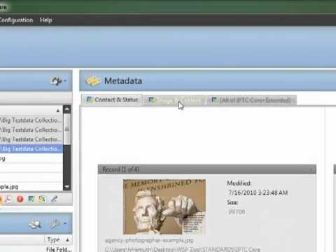 IPTC Core - Metability Workspace