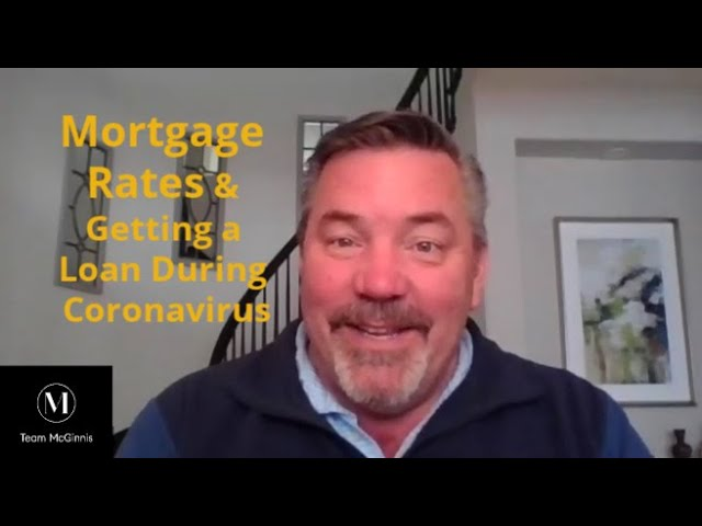 Mortgage Rates and Getting a Loan During Coronavirus (Video)