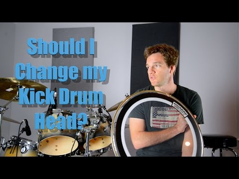 When to Change Your Kick Drum Head