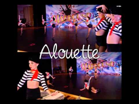 Alouette Full Song Featured on Dance Moms as a Group Dance
