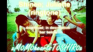 Shinee - Juliette (ringtone) +Mp3 DL