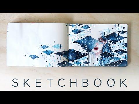 2016 Watercolor Sketchbook