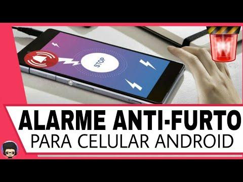 alarme anti-furto para celular android