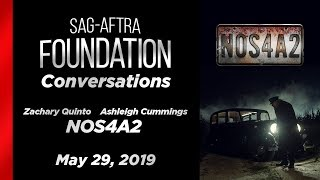 Conversations with Zachary Quinto & Ashleigh Cummings of NOS4A2