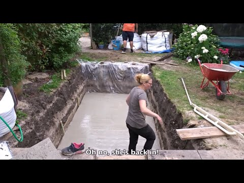 How to build your swimming pool – Step by step