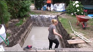 How To Build Your Swimming Pool Step By Step Youtube