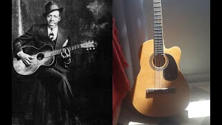 Robert Johnson style Blues as thought by anyonecanplayguitar