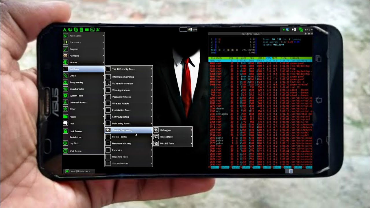 How to Run Fastest Parrot OS on Android Phone Without Root !![ Run Kali  Linux,Parrot OS, Black Arch]
