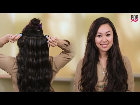 How to wear hair extensions the right way popxo youtube how to wear hair extensions the right way popxo pmusecretfo Image collections