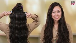 How To Wear Hair Extensions The Right Way - POPxo