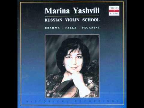 Marina Yashvili - J.Brahms: Contemplation