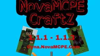 NovaMCPE CraftZ Sunucumuz Açıldı. DayZ