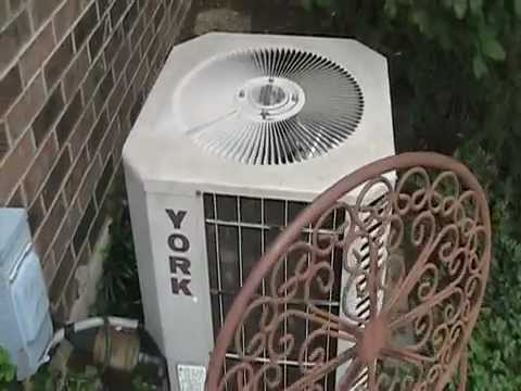 1990 York Deluxe High Efficiency Air Conditioner At My