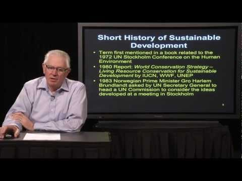 Lecture 1 - Sustainable Development Concepts