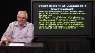 Lecture 1 - Sustainable Development Concepts