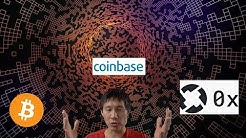 Bitcoin Dump starts, ZRX up 150%(we know why now), Coinbase crashes