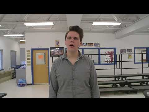 Cooper Pokrentowski Audition Video for The Crane School of Music at SUNY Potsdam