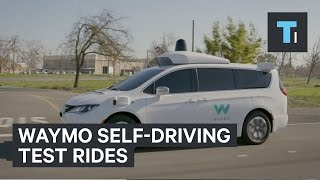 Waymo​ is providing self-driving services to its first testers