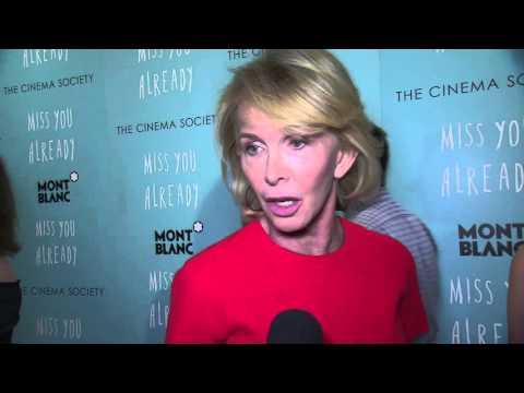 Miss You Already: Trudie Styler New York Premiere Interview