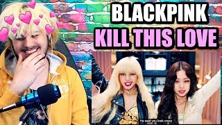 Cover images BLACKPINK - 'Kill This Love' M/V | I'M WAY TOO HYPED FOR THIS! | REACTION!!
