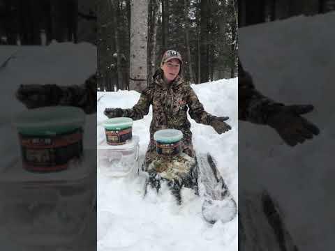 Bloc mix orignal chevreuil minéraux jam buck Hunter