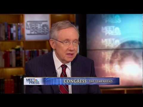 Senator Reid on Meet The Press (Full Interview)