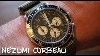 Nezumi Studios Corbeau Chronograph Review - Vintage Field Chronograph Under $500!