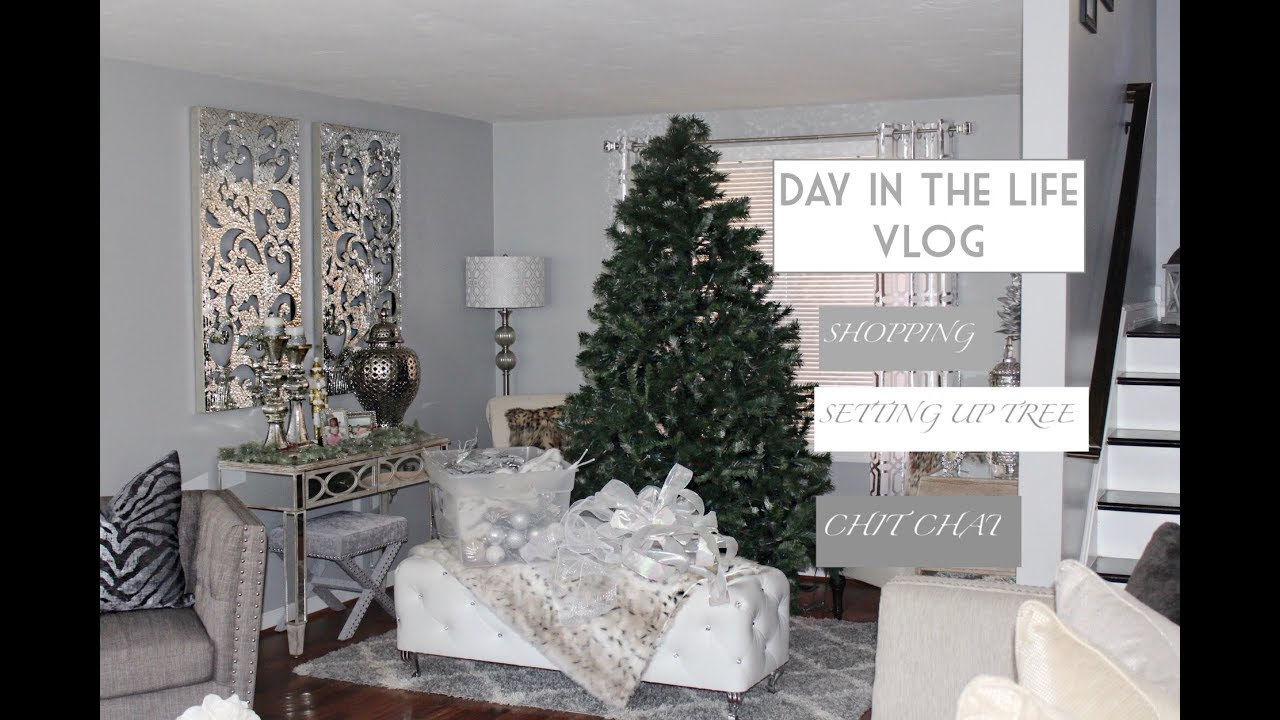 DAY IN THE LIFE ||VLOG || PUTTING UP CHRISTMAS TREE || NORDSTROM || TODDLER COAT AND BOOTS || SAHM