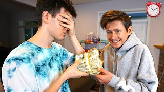 I Gave My Little Brother 24 HOURS To Spend $10,000...