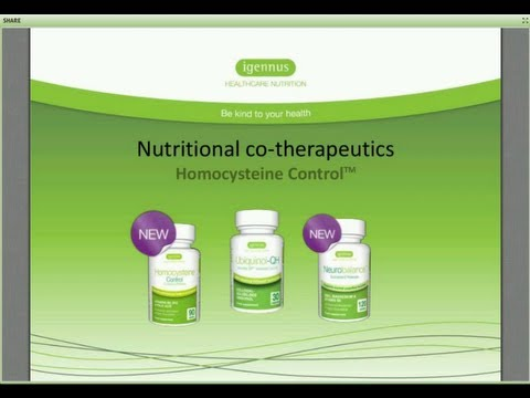 Homocysteine Control -- clinical evidence & application