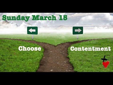 Choose Contentment