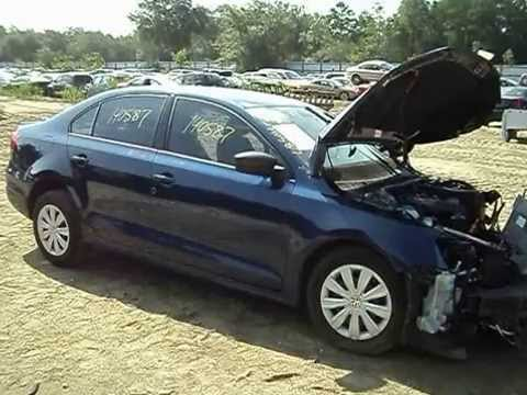 Parting out a 2011 Volkswagen Jetta-140587-AA Auto Salvage