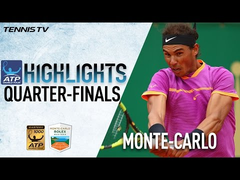 Highlights: Nadal Goffin Soar Into Final Four At Monte-Carlo 2017