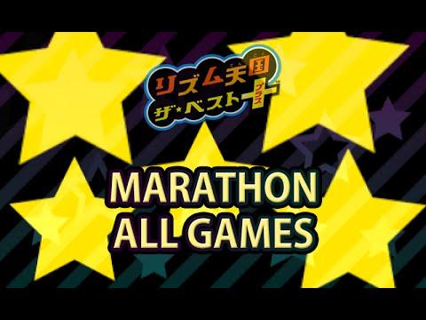 [60fps] Rhythm Heaven Megamix (JP Ver) - No Miss Marathon