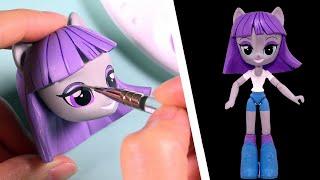 CUSTOM My Little Pony MAUD PIE Equestria Girls Minis Doll MLP Tutorial | SweetTreatsPonies thumbnail