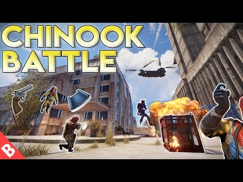 INTENSE Battle For The NEW CHINOOK CRATE - Rust Solo