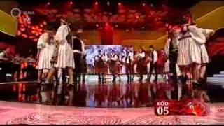 A Tanac táncegyüttes és a Vizin zenekar