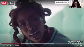 "Kim Burrell Reacts LÏVE to Brandy's New Single ""Borderline"" & Discuss Future Collaboration."