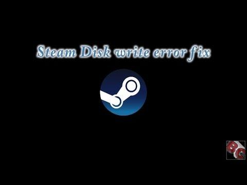 Steam disk write error fix