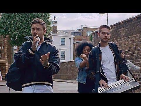 """Liam Payne & Zedd SURPRISE Fans & Dance In The Street In """"Get Low"""" Video"""