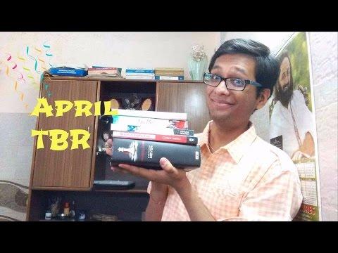 April TBR I Indian Booktuber