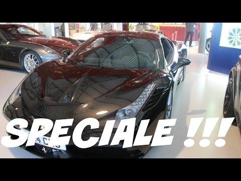 Ferrari 458 Speciale LHD finished in Nero daytona black at Joe Macari