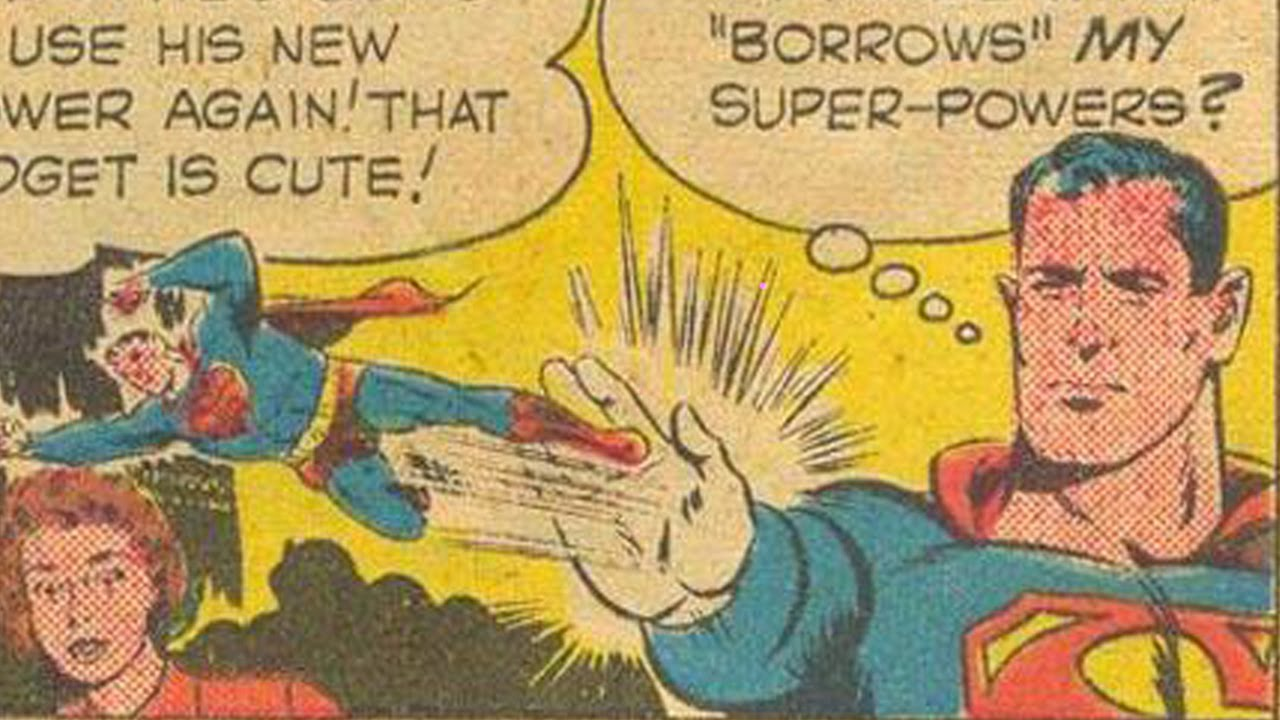 That Time Superman Shot Tiny Supermen Out Of His Fingers - YouTube