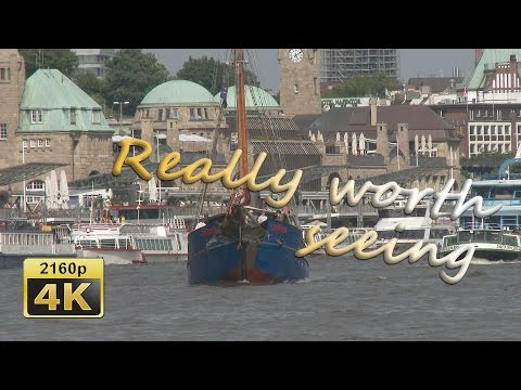 Hamburg, Harbor and Elbe Cruising - Germany 4K Travel Channel