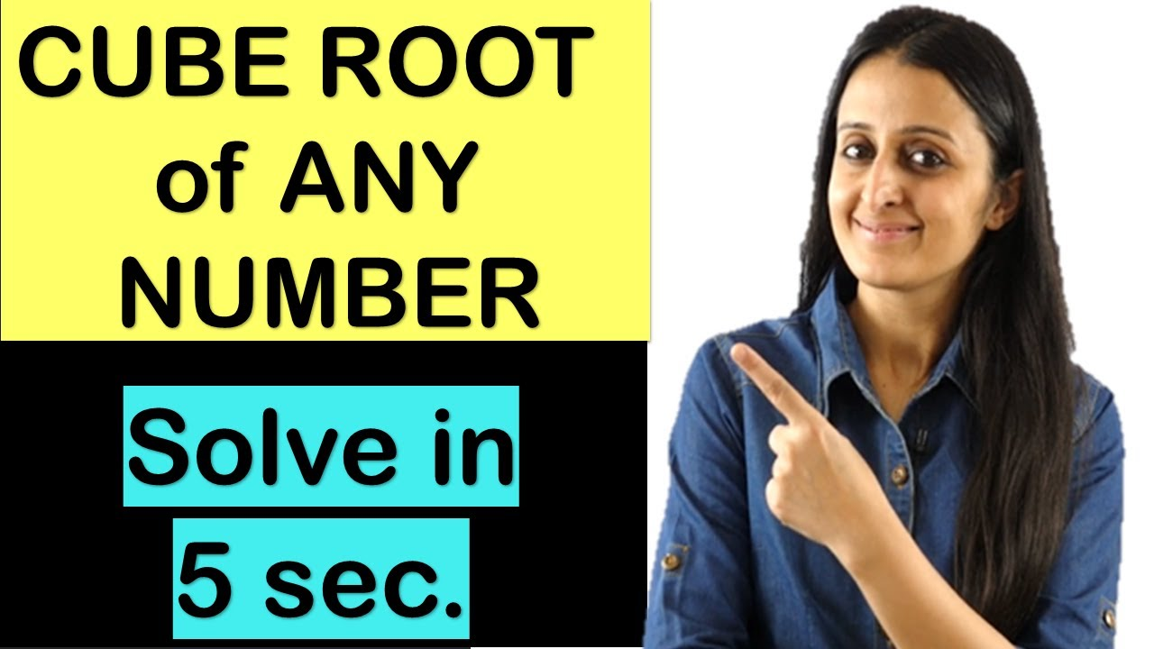 CUBE Root TRICK/Solve in 5 seconds/JEE/NDA/CETs/Airforce/Banking/VIII/IX/X/XI/XII Shortcut