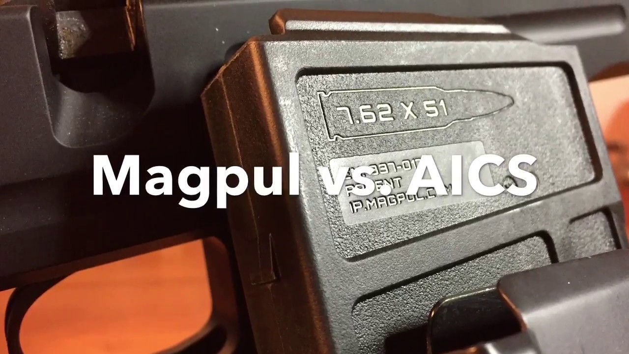 Review: Magpul AICS P-mag vs  Accuracy International magazine in a XLR  Evolution system