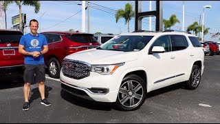 Is the 2019 GMC Acadia Denali the BENCHMARK mid-size luxury SUV?
